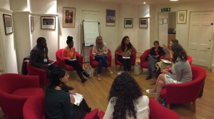 Gabrielle Newell's breakout session on successful and failing social interventions.